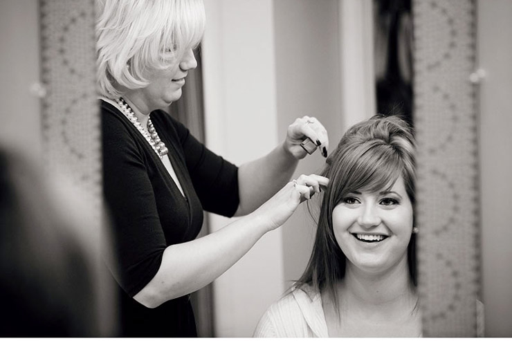cookeville wedding getting ready