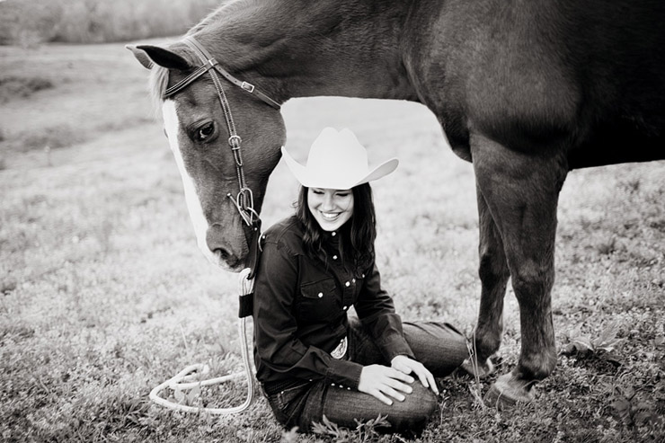 cowgirl senior photos