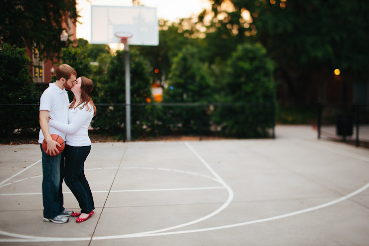 basketball engagement session