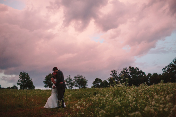 wedding photos after a rainstorm