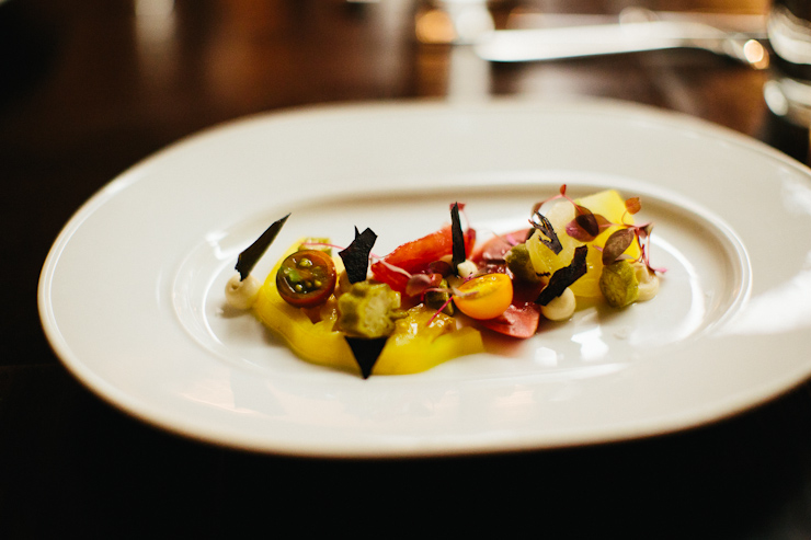 heirloom tomato salad catbird seat