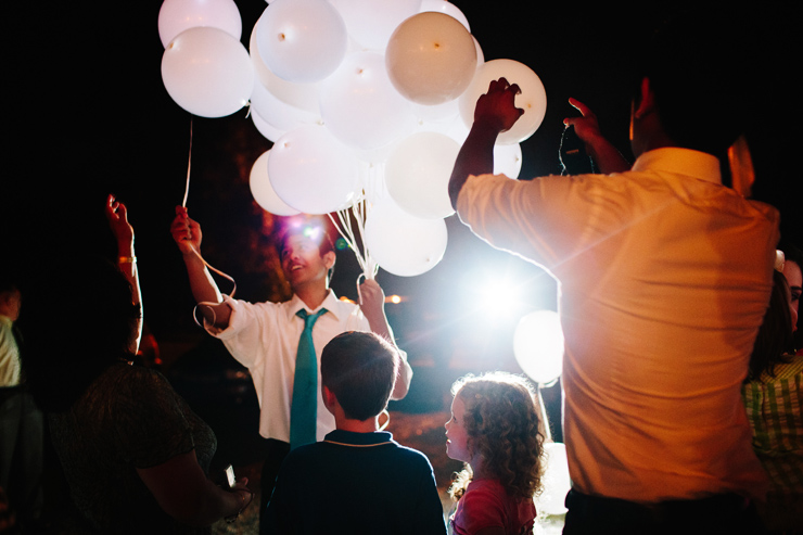 wedding balloons with led lights