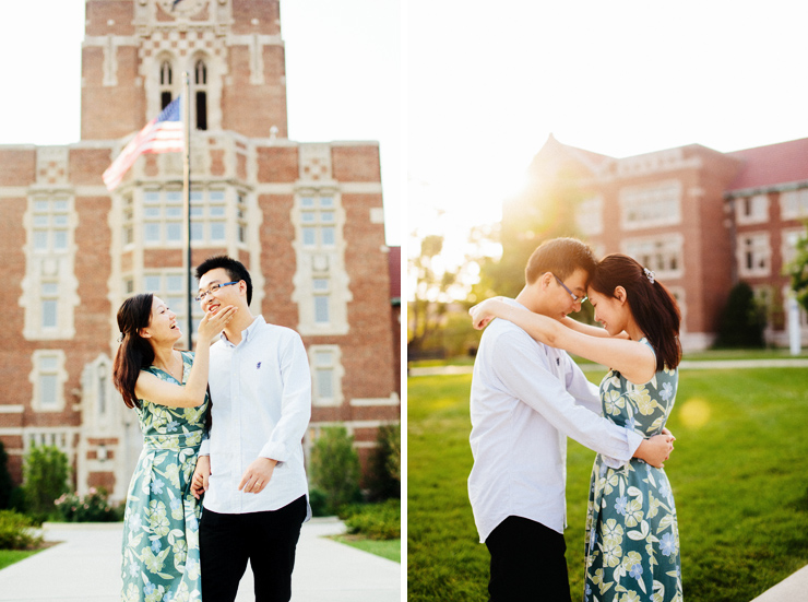university of tennessee engagement photos