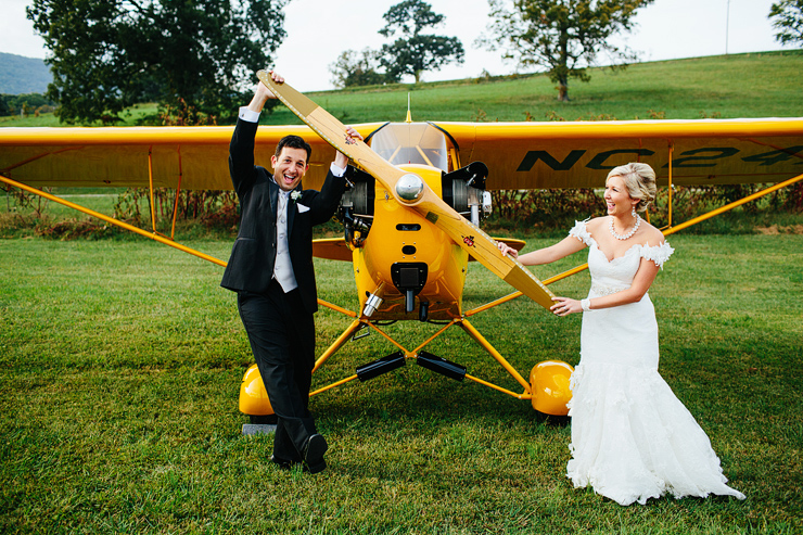 airplane wedding1