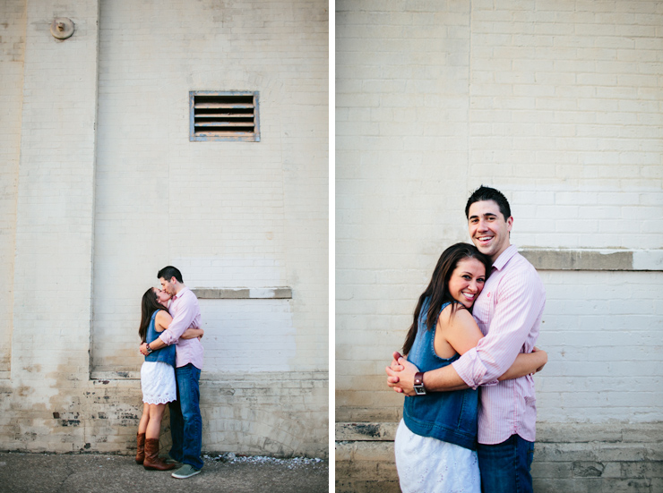 cute knoxville engagement photos
