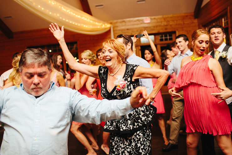 great wedding reception dancing
