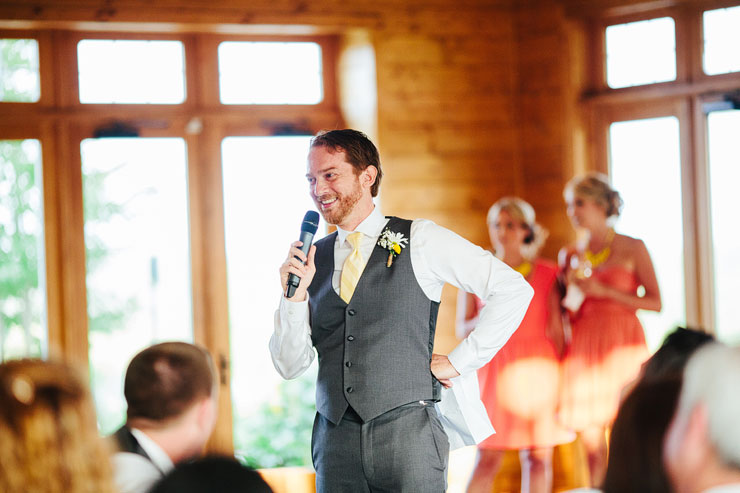 speeches at the wedding
