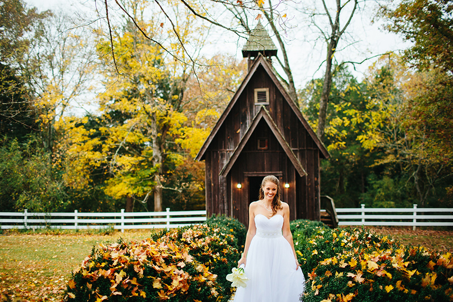 fall wedding tellico plains