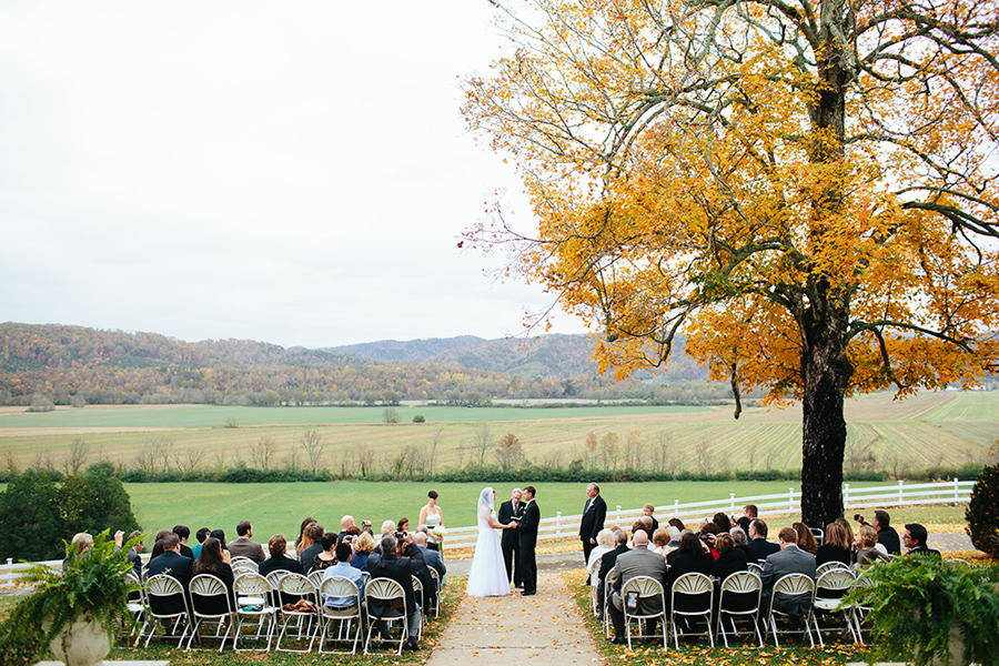 east tennessee mountain wedding