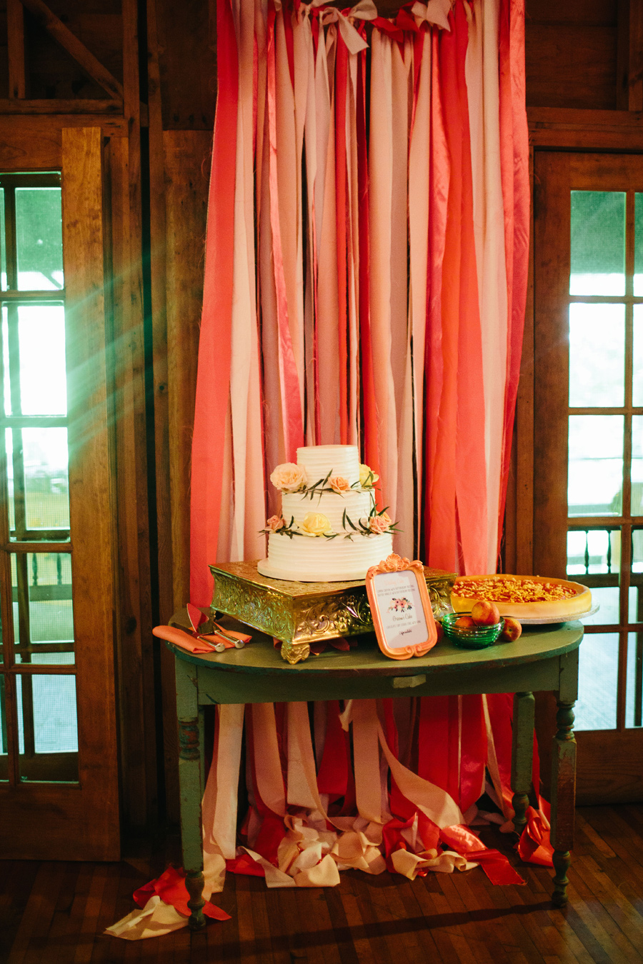 appalachian clubhouse wedding reception
