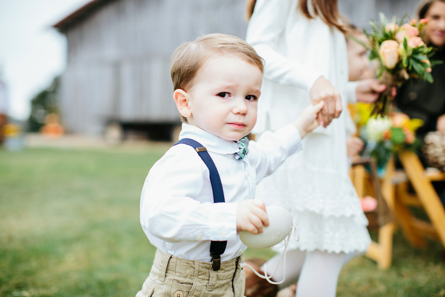 crying ringbearer