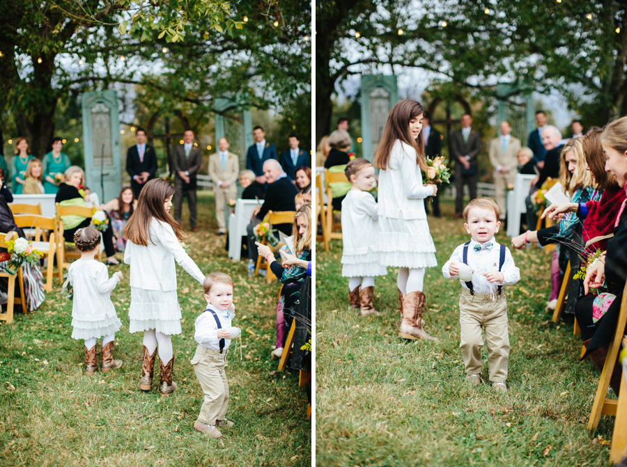 funny crying ringbearer