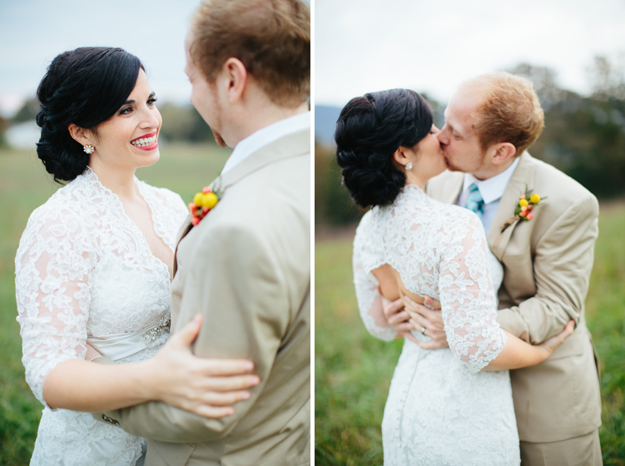 joyful wedding portraits