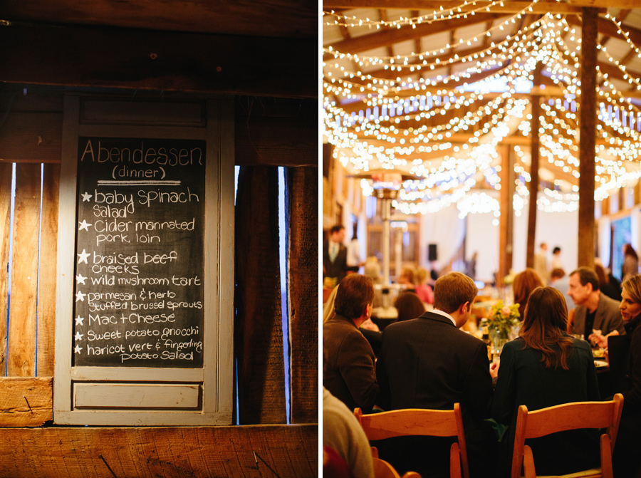high point farms barn reception