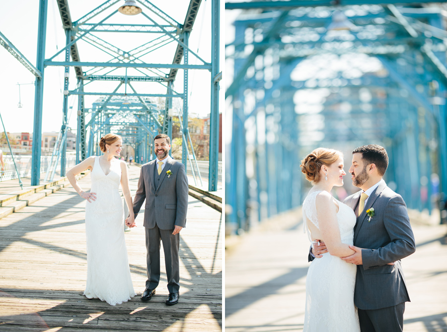 elopement chattanooga walking bridge