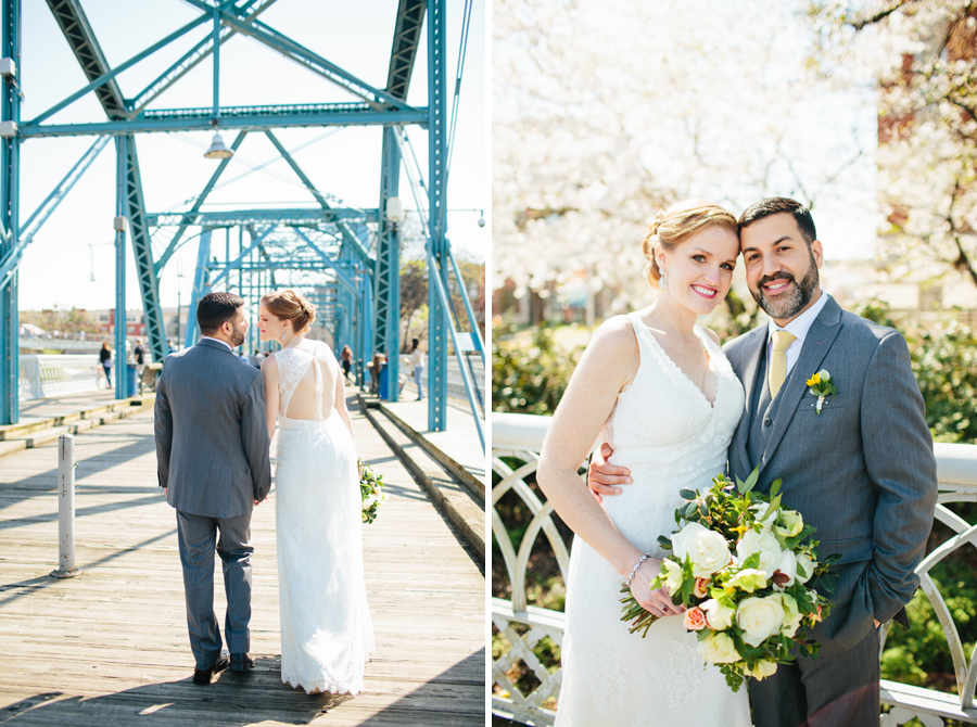 chattanooga elopement walking bridge