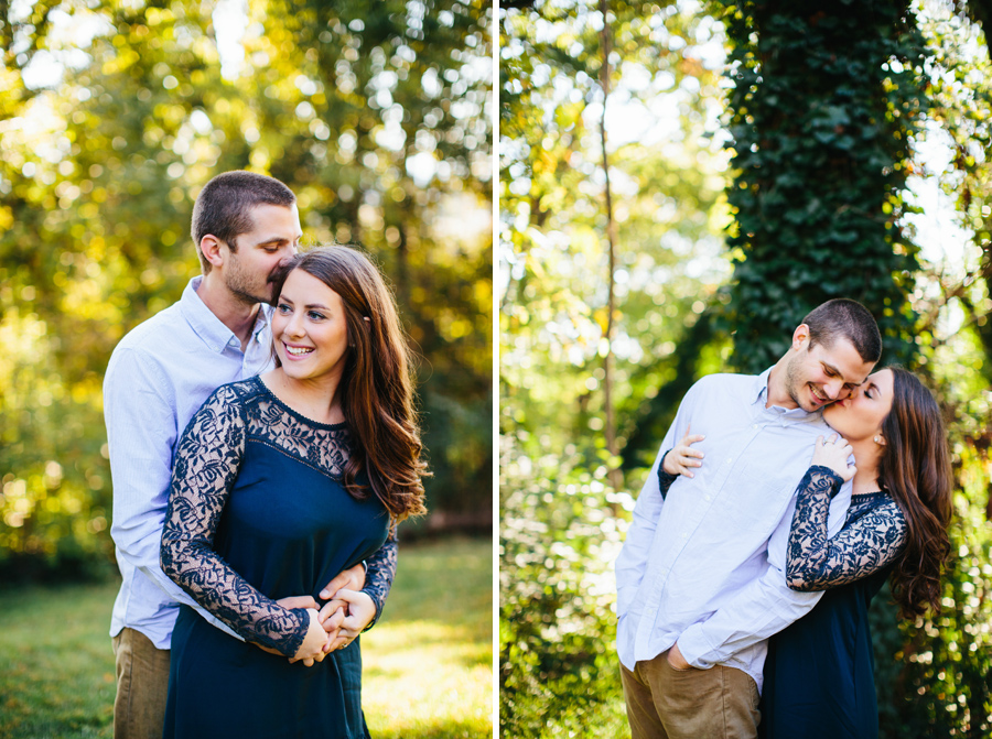 colorful engagement photos knoxville