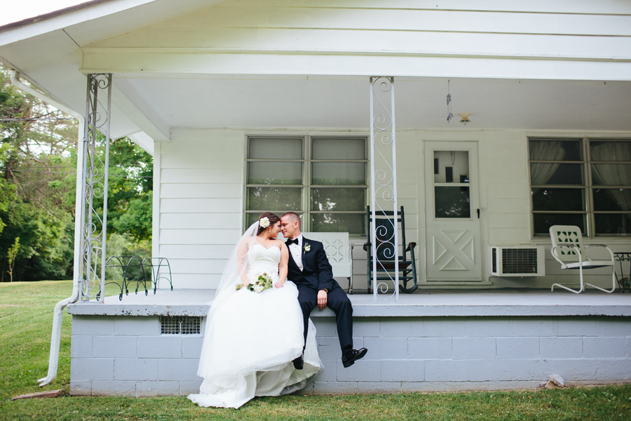 private home knoxville wedding