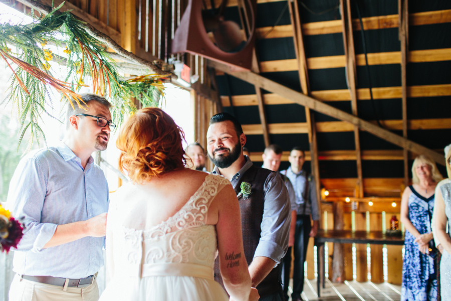 the wrens nest wedding ceremony photos