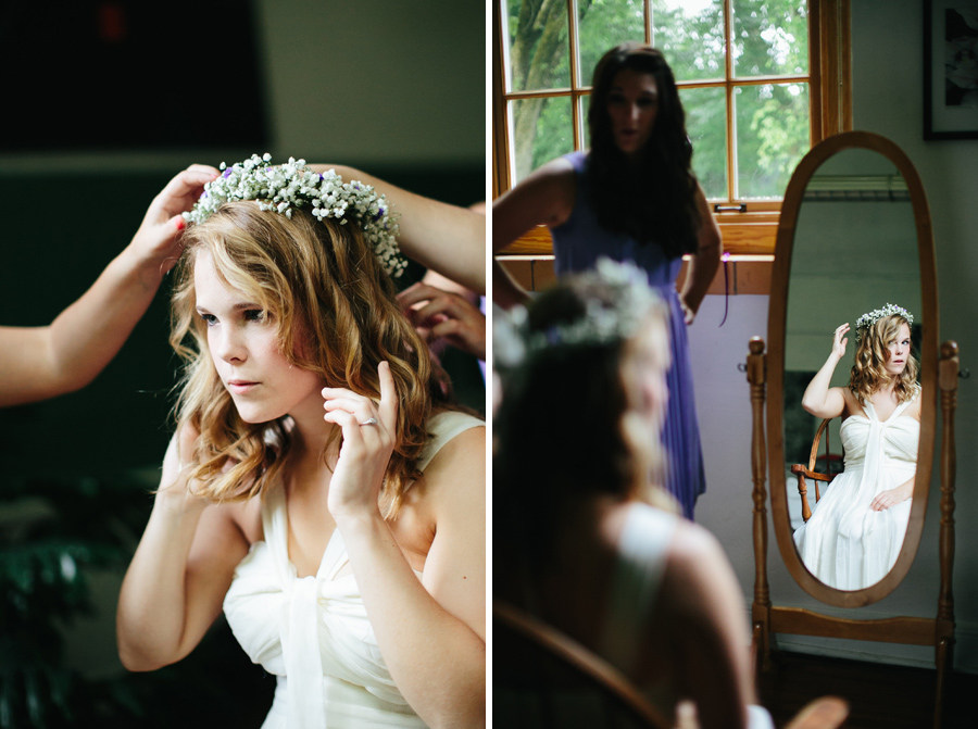 riverdale school bride gets ready