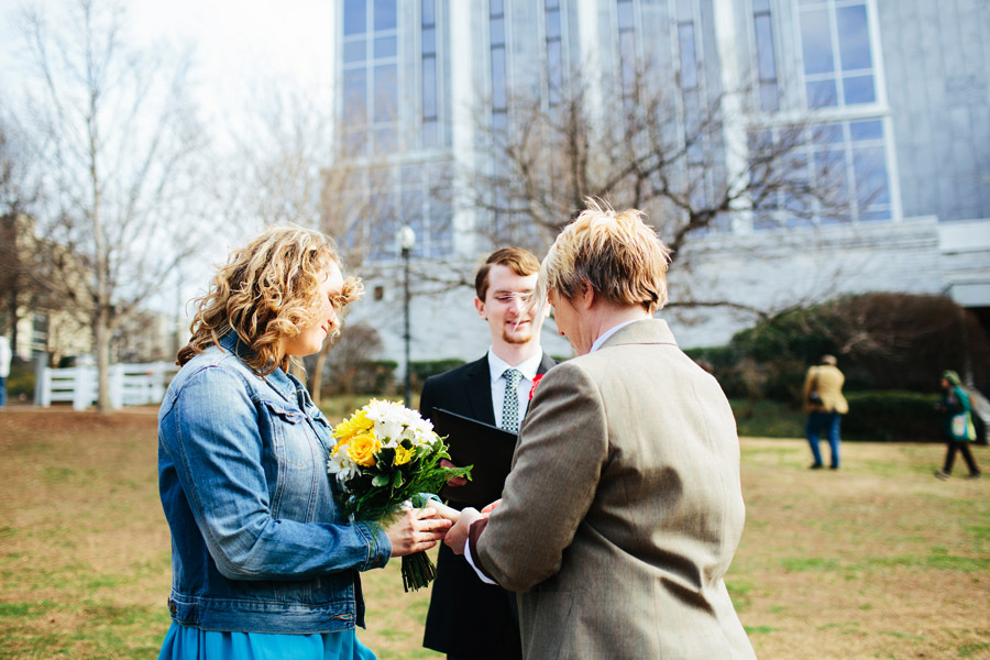 huntsville same sex wedding photos