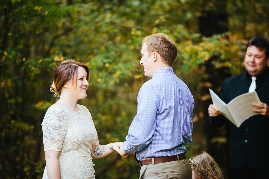 fall knoxville elopement