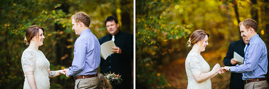 knoxville fall elopement