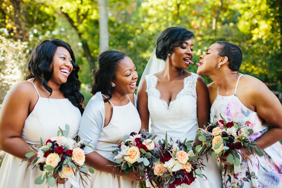 personality filled wedding photos